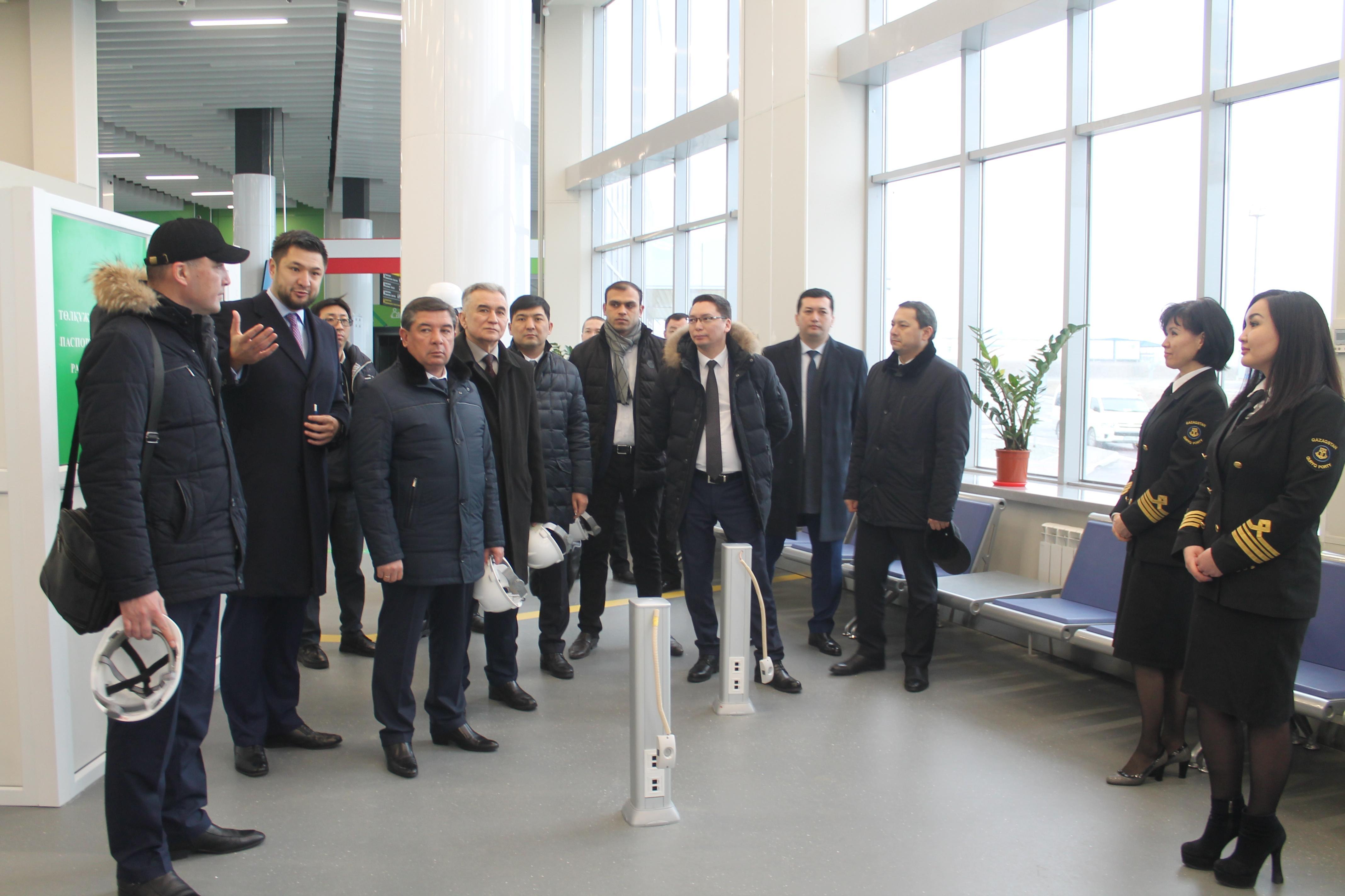В Актау откроют Торговый дом Узбекистана